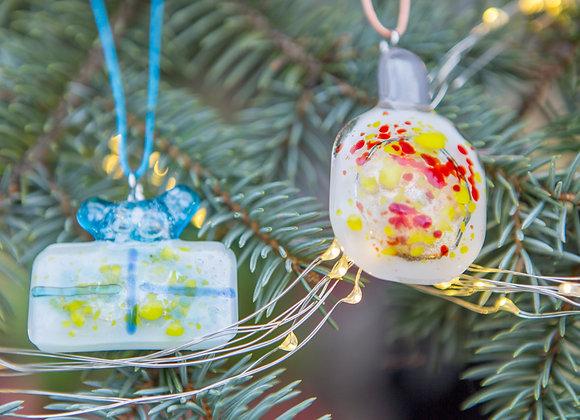 Two Unique Christmas Ornaments