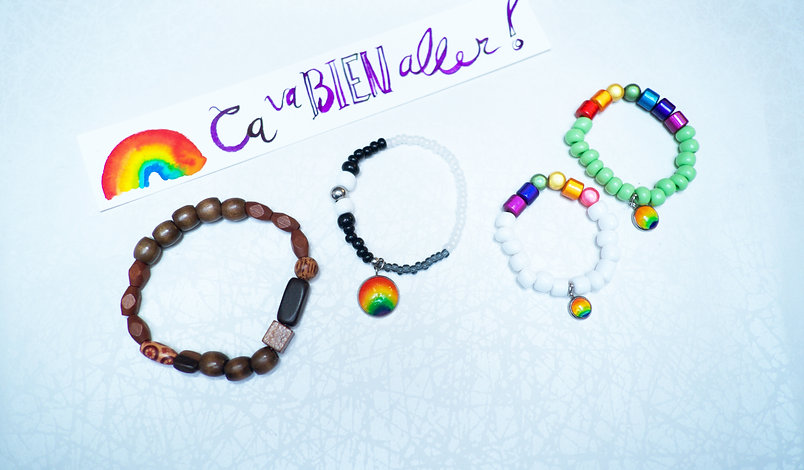 Rainbow Hand made Unique Jewelry for the Family