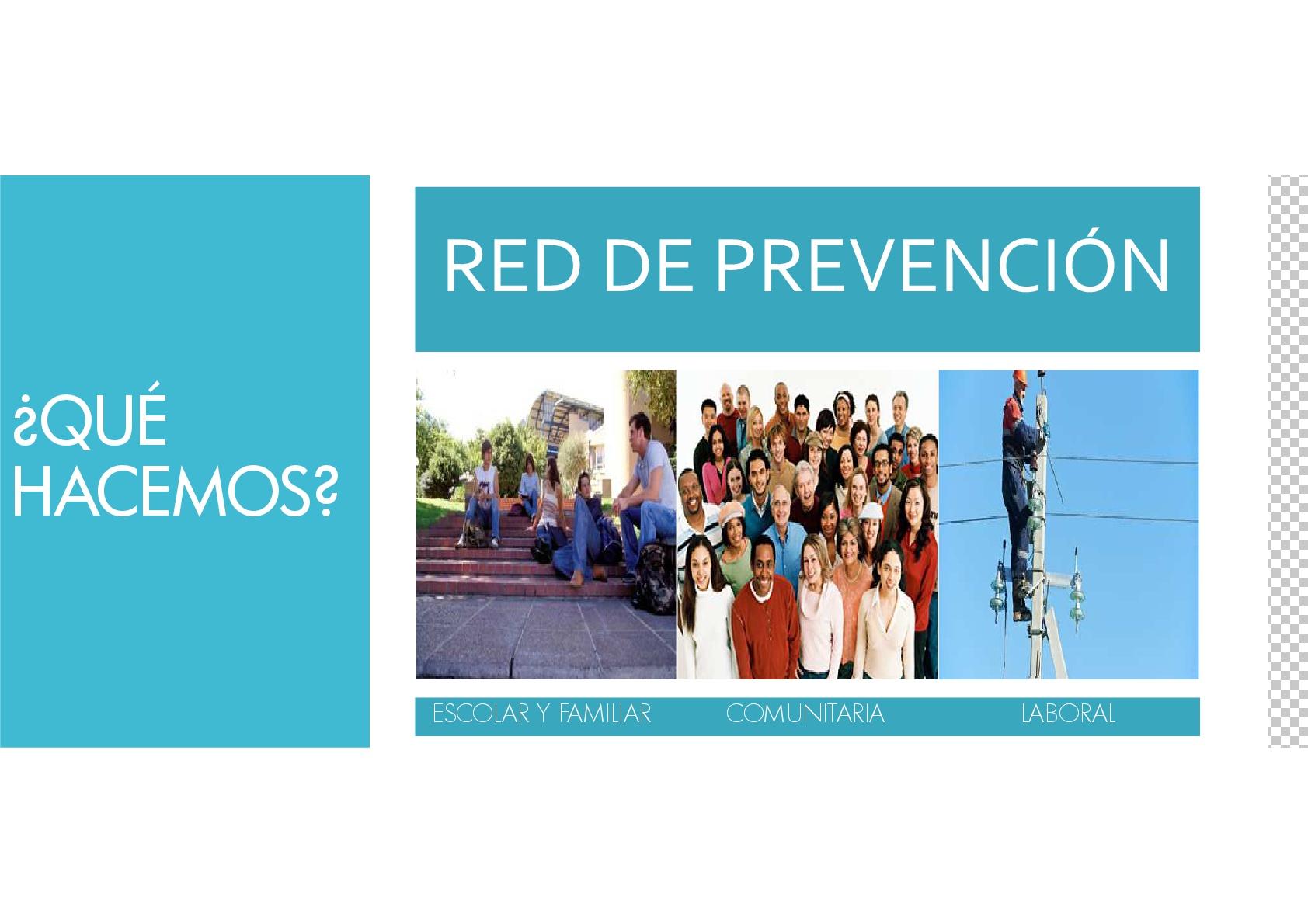 RED DE PREVENCIÓN