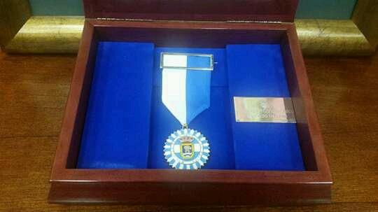 Medalla a Proyecto Hombre