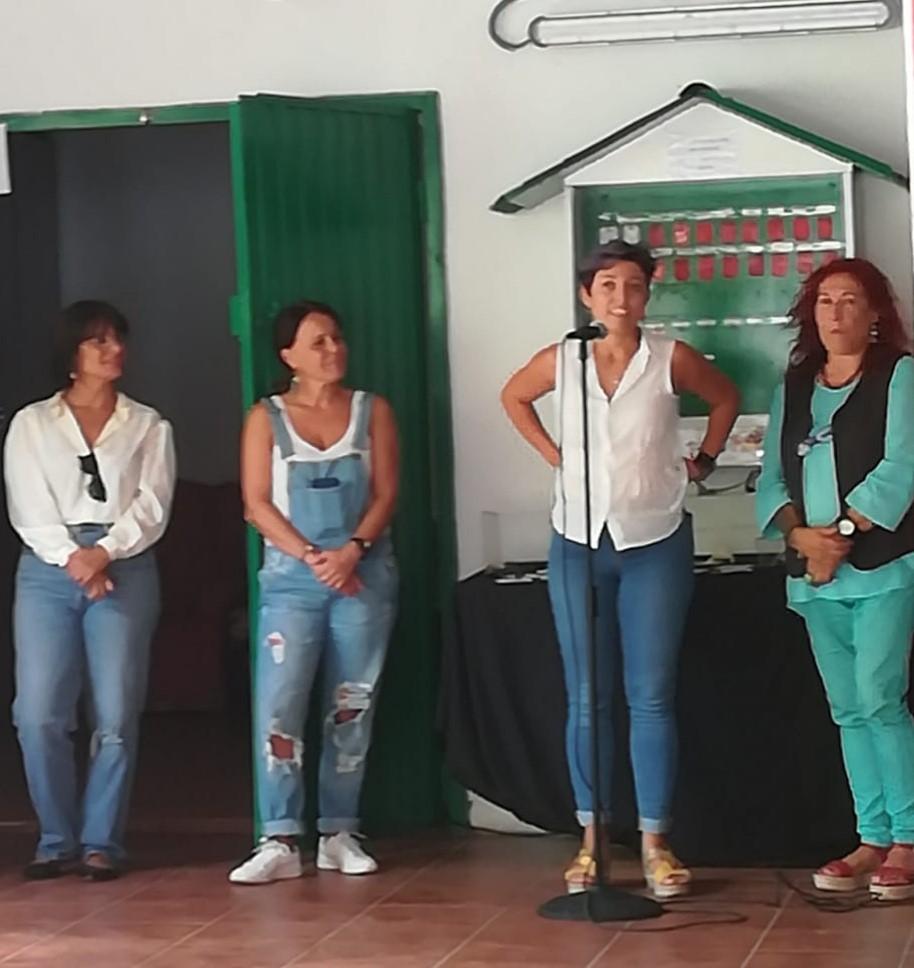 Voluntaria del Centro
