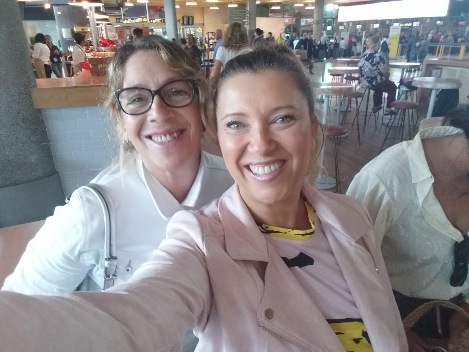 Luisa y Caty