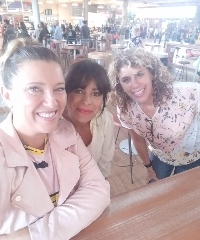 Caty, María y Merchi