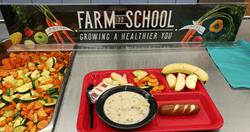 October Farm2School Meal High School