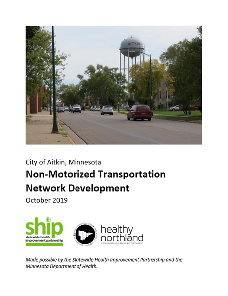 Non-Motorized Transportation Network Dev