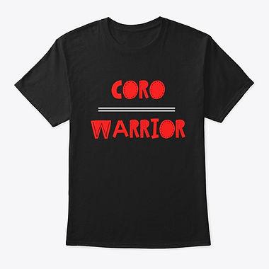 Coro Warrior T-shirt Red and Black.jpg