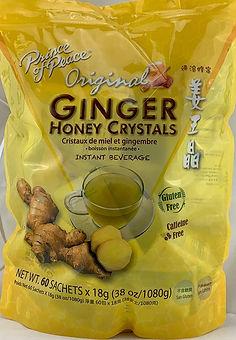 Instant ginger beverage mix