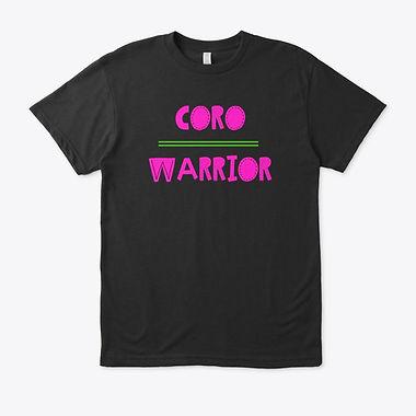 Coro Warrior T-shirt Pink and Green.jpg