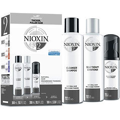 Nioxin Haircare Two-step Shampoo and Conditioner for Fuller, Thicker Hair
