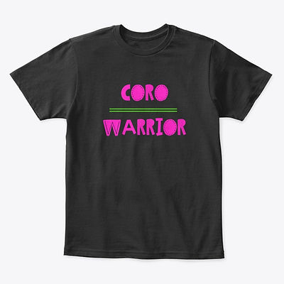 Coro Warrior T-shirt Pink and Green Youth.1.jpg