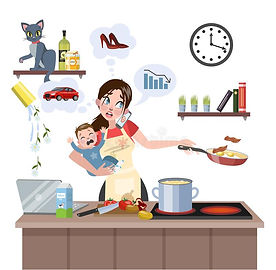 mother-failed-doing-many-thing-once-busy