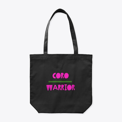 Coro Warrior Tote - Pink and Green.jpg