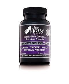 Mane Choice Manetabolism Plus Hair Vitamins. Thicker Longer Fuller Hair