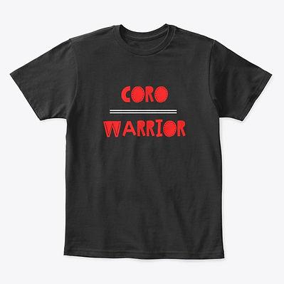 Coro Warrior T-shirt Red, Black and WhiteYouth.jpg