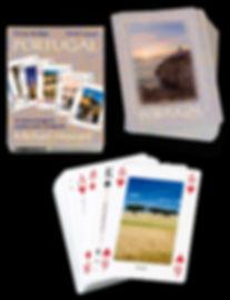 Packs of playing cards with views of Portugal, Cartas de jogar de Portugal