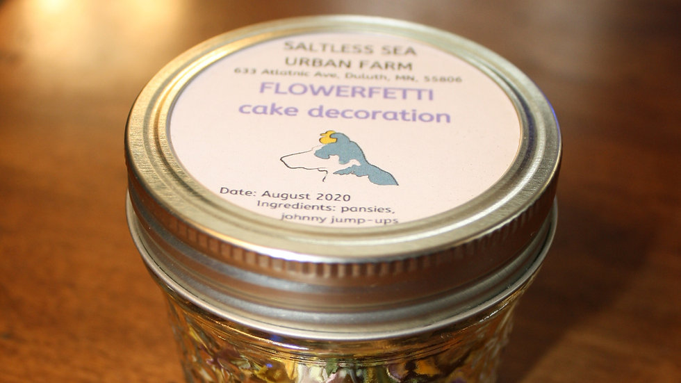 Flowerfetti Cake Decoration