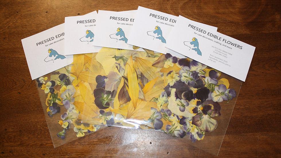 Pressed Edible Flowers