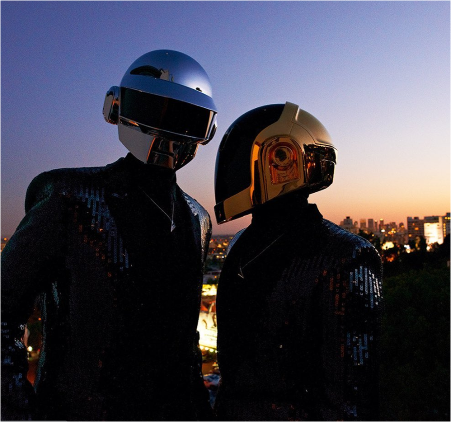 Electronic Duo Daft Punk Release Their Compilation Remix Album The Many Faces Of Daft Punk