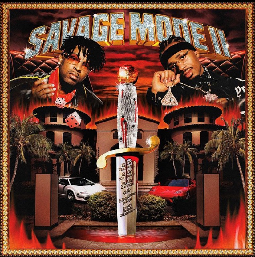 the cultural significance of 21 savage s savage mode ii album cover savage mode ii album cover