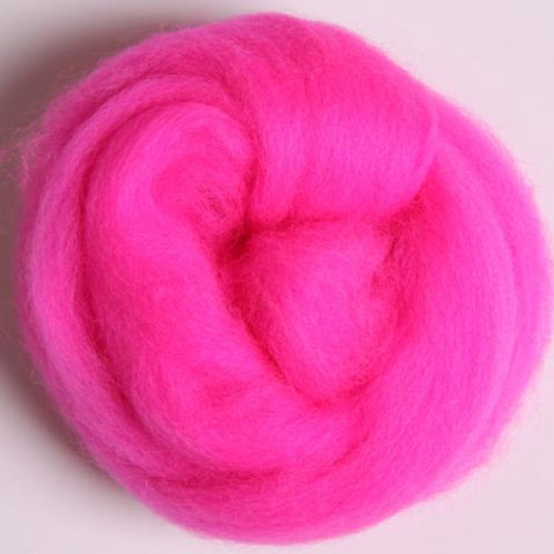 Fluo Pink ASHFORD MERINO laine mèche 1 KILO