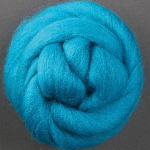 Turquoise ASHFORD CORRIEDALE Fibre 1 KILO
