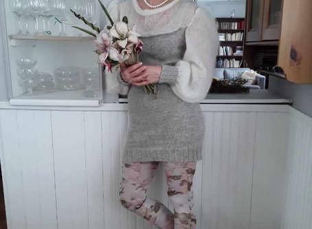 La robe de mariée et le bouquet...