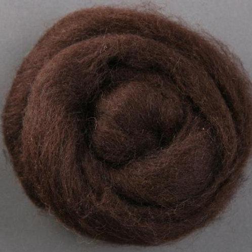 Chocolate ASHFORD CORRIEDALE laine mèche 1 KILO
