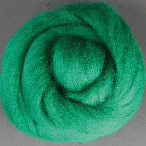 Green ASHFORD MERINO laine mèche 1 KILO