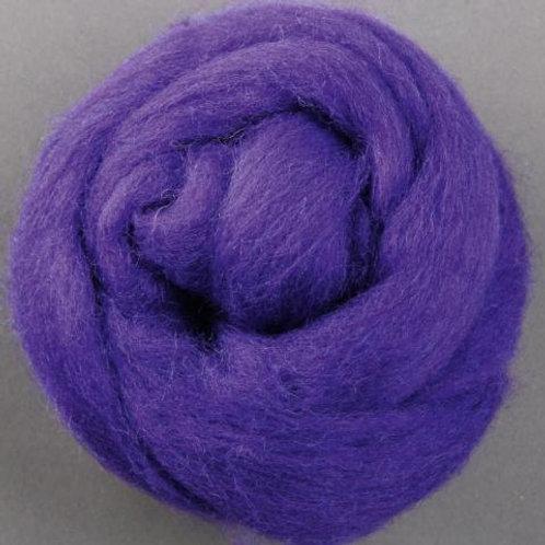 Purple ASHFORD CORRIEDALE laine mèche 1 KILO