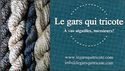 Le gars qui tricote