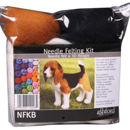 Kit de feutrage à l'aiguille - Beagle