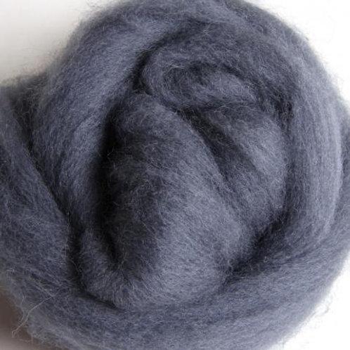 Grey ASHFORD CORRIEDALE laine mèche 1 KILO
