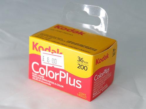 Kodak Colour Plus 36 exposure Film