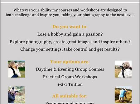 Sally Edwards photography courses