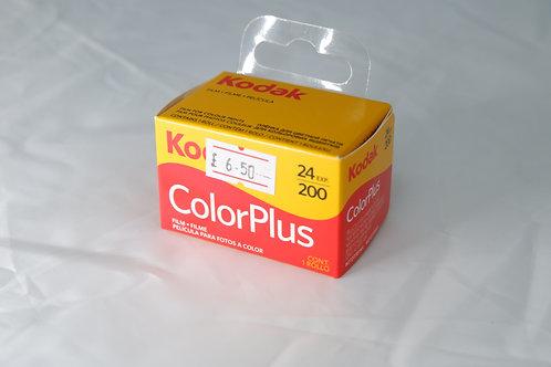 Kodak Colour Plus 24 exposure Film