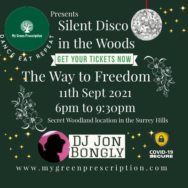 Silent Disco in the woods with MGP & DJ Jon Bongly