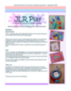 JLR PLAY CIC NEWSLETTER - HOME FROM HOME