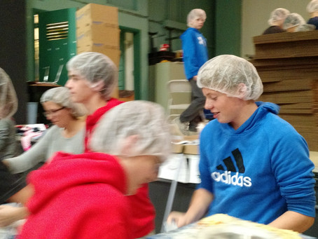 Feed My Starving Children 6:8 Food Pack