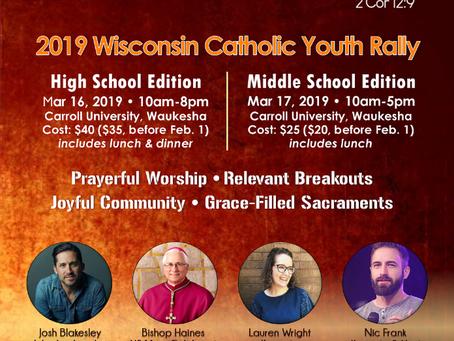 Wisconsin Catholic Youth Rally