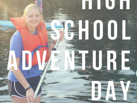 High School Adventure Day