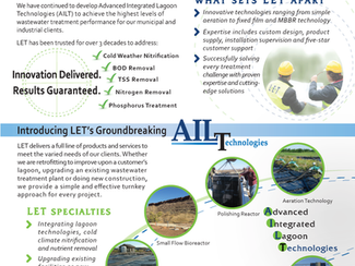 Lemna Environmental Technologies, Inc. (LET) Overview Brochure