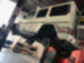 Mercedes G Wagon Repair