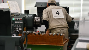 ものづくりコンテスト山形県大会『普通旋盤作業部門』第2位