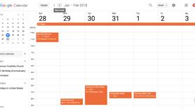 CFC Google Calendar