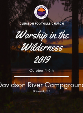 WORSHIP IN THE WILDERNESS 2019