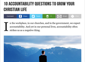10 Accountability Questions