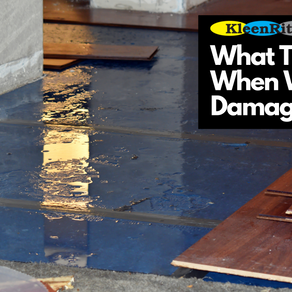 What To Do When Water Damage Strikes