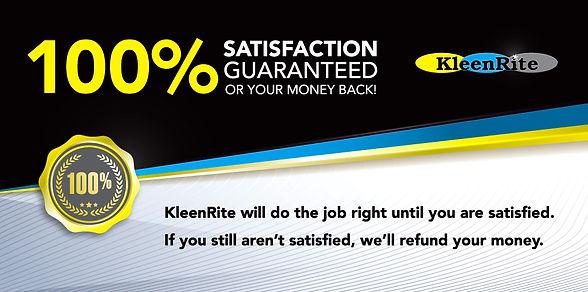 Kleenrite 100 percent guarantee.jpeg
