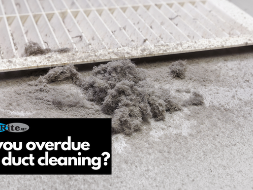Are you overdue for a duct cleaning?