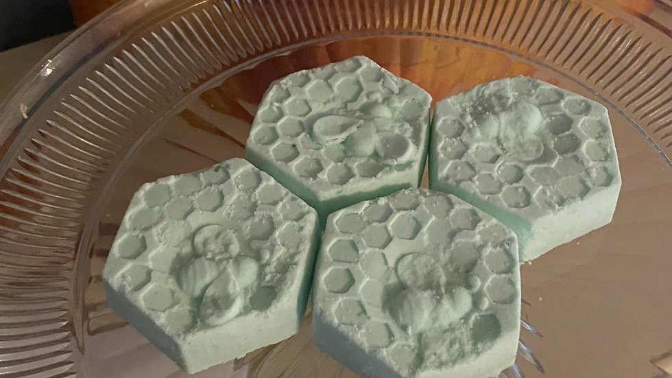 Peppermint Menthol Shower Steamers